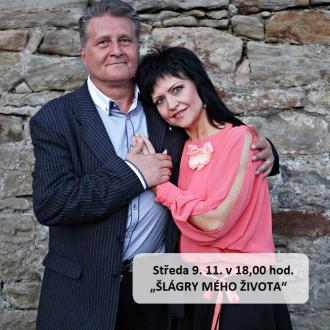 "Středa 9. 11. v 18,00 hod. - ""ŠLÁGRY MÉHO ŽIVOTA"" /Marcel Zmožek a Mára + klávesy/"
